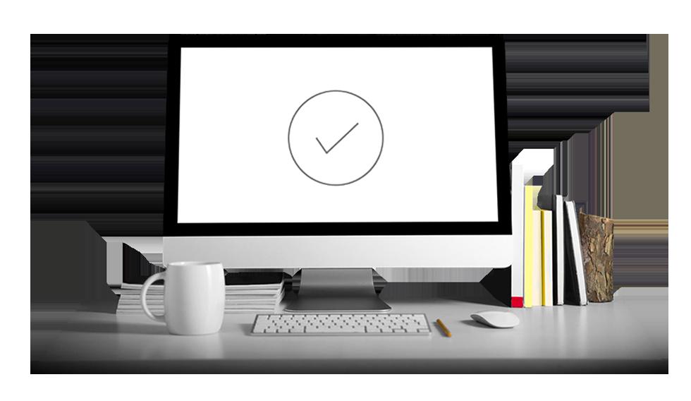 Desktop PC ready for use - Predictive Response